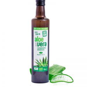 jugo de aloe vera ecologico