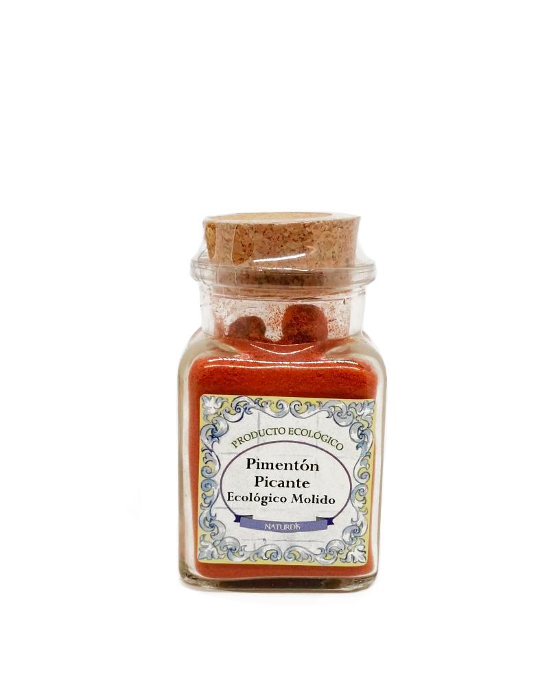 pimentón picante ecológico