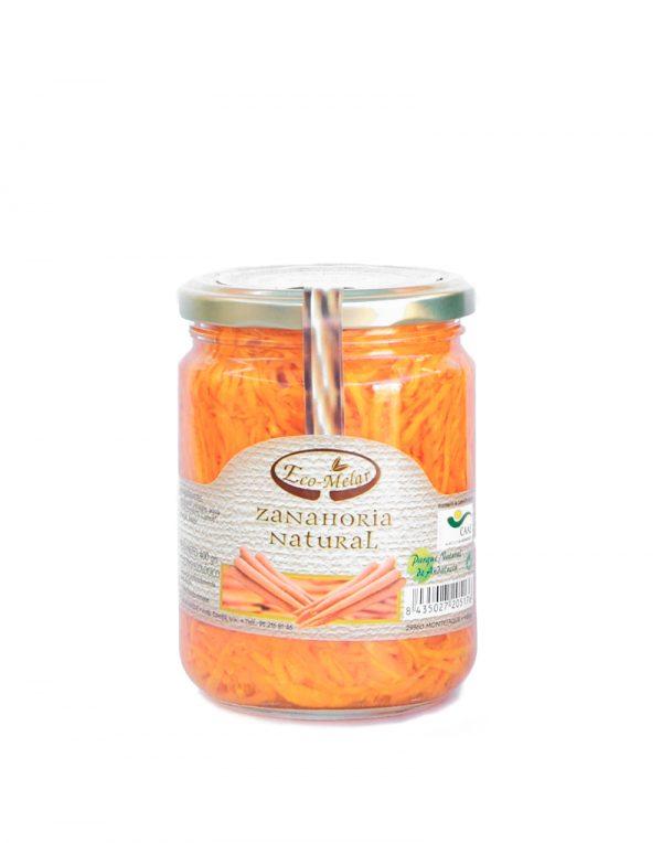 zanahoria natural rallada ecologica