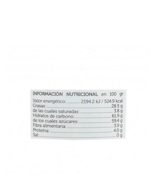 crema de cacao con avellanas ecologica