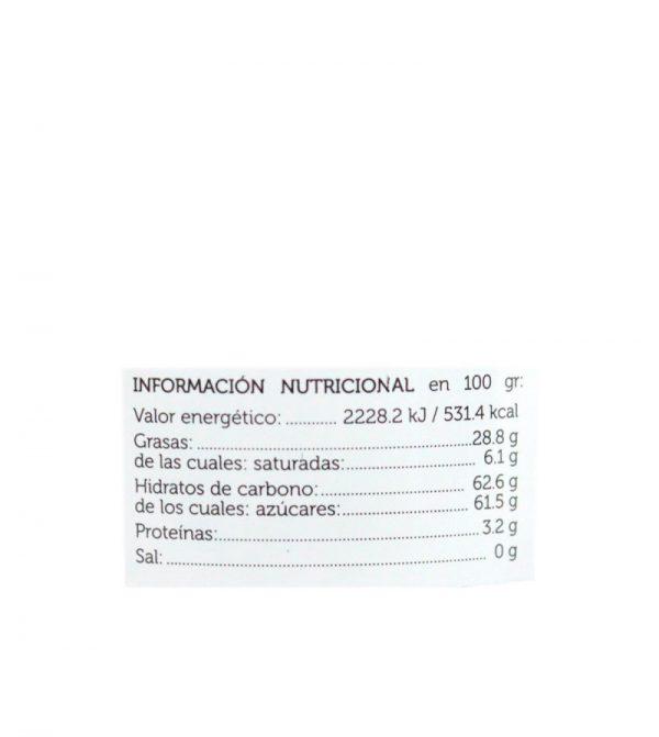 crema de cacao y naranja