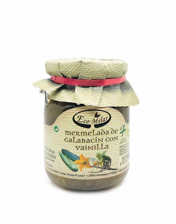 mermelada calabacin vainilla ecologica