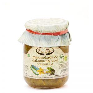 mermelada de calabacin con vainilla ecológica