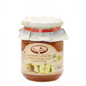 mermelada de manzana con vainilla ecológica