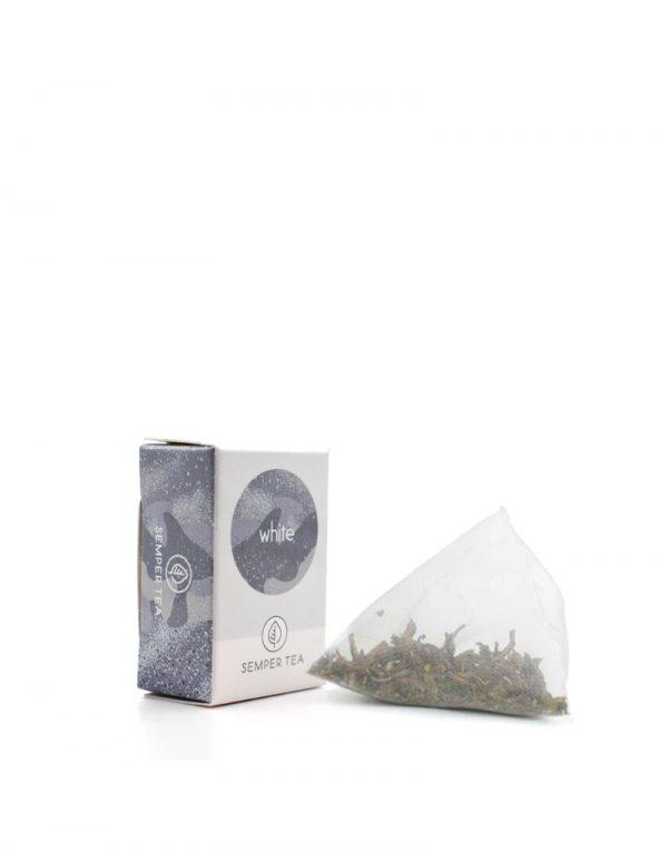 té blanco ecológico