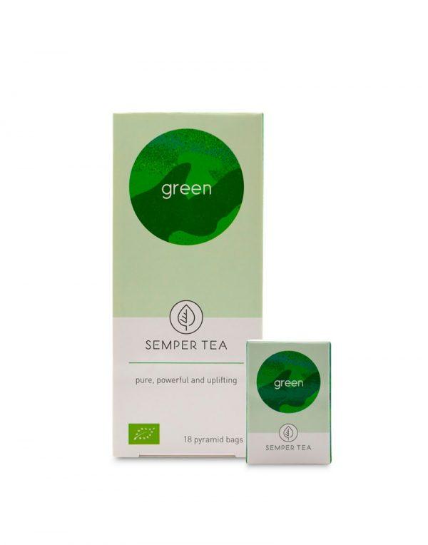 te verde ecologico