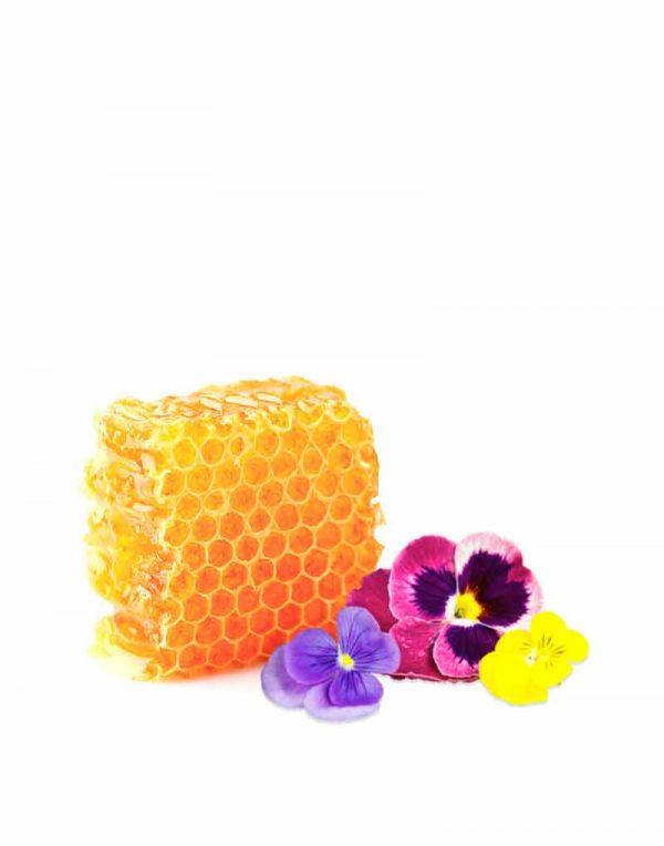 miel con flores comprar