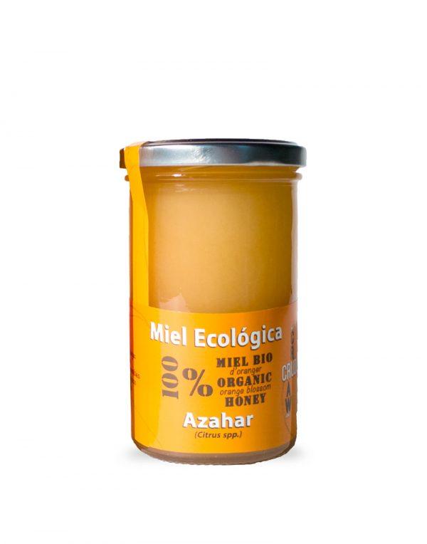 miel de azahar cruda ecologica verdemiel