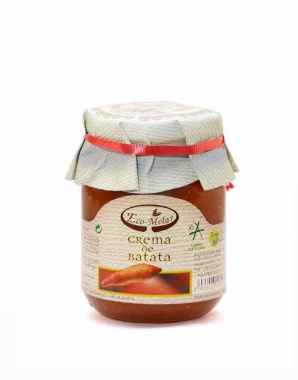 crema dulce de batata ecologica eco melar