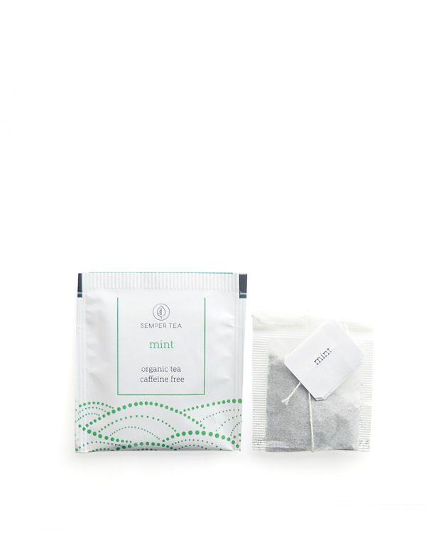 té de menta ecológica bolsita