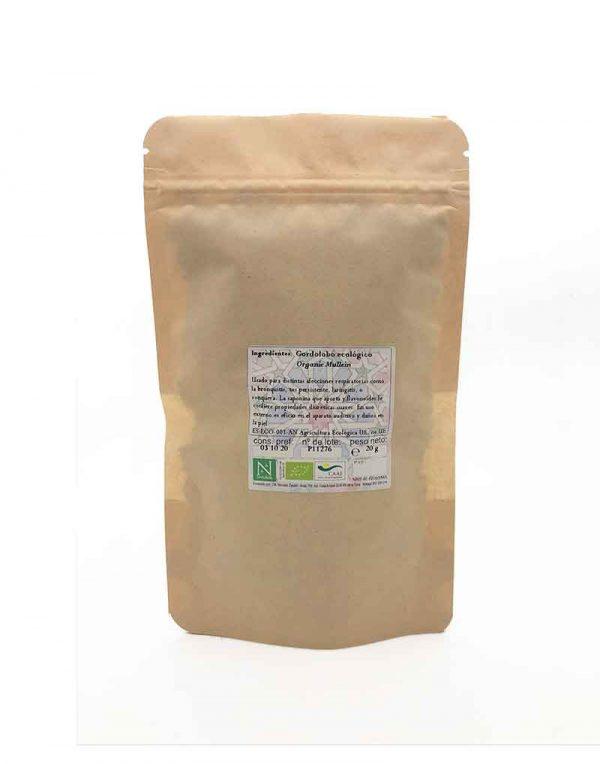 gordolobo ecologico planta cortada infusion
