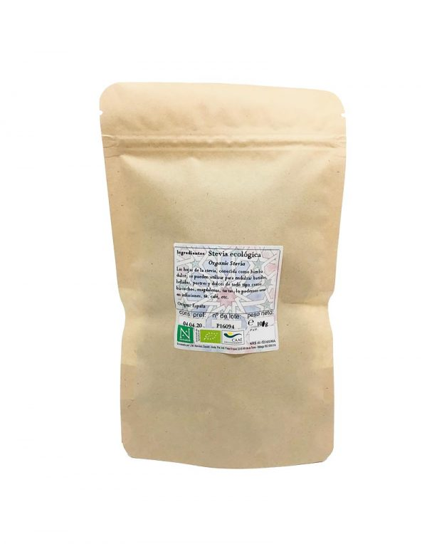 stevia hojas infusion ecologica