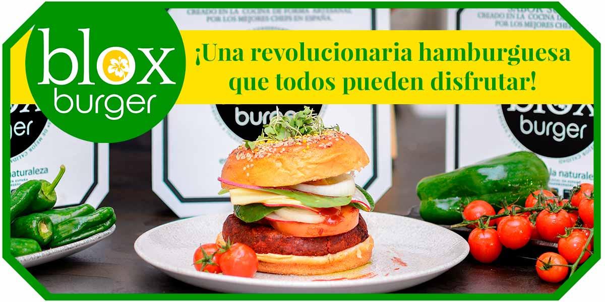 hamburguesa vegetal blox burger