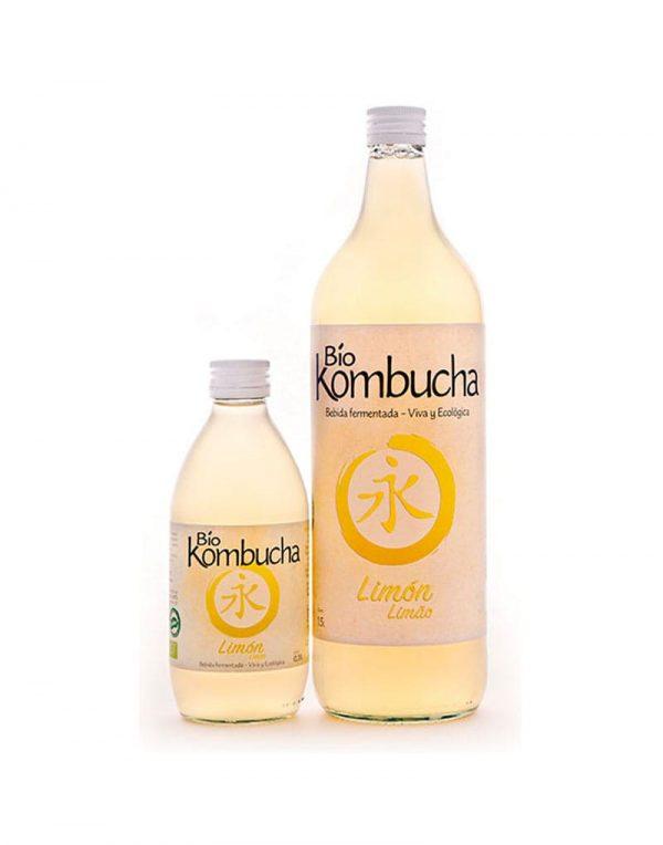bio kombucha limon ecologica