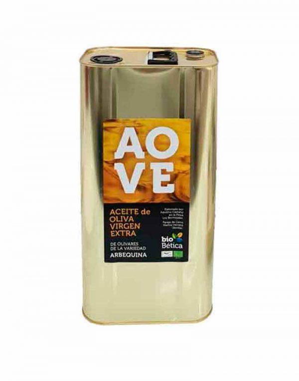 aceite de oliva virgen extra arbequina Biobetica