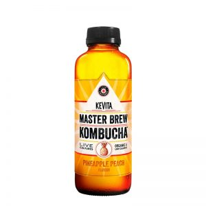 kombucha kevita pineapple peach