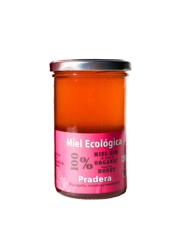 miel cruda de pradera ecologica verdemiel