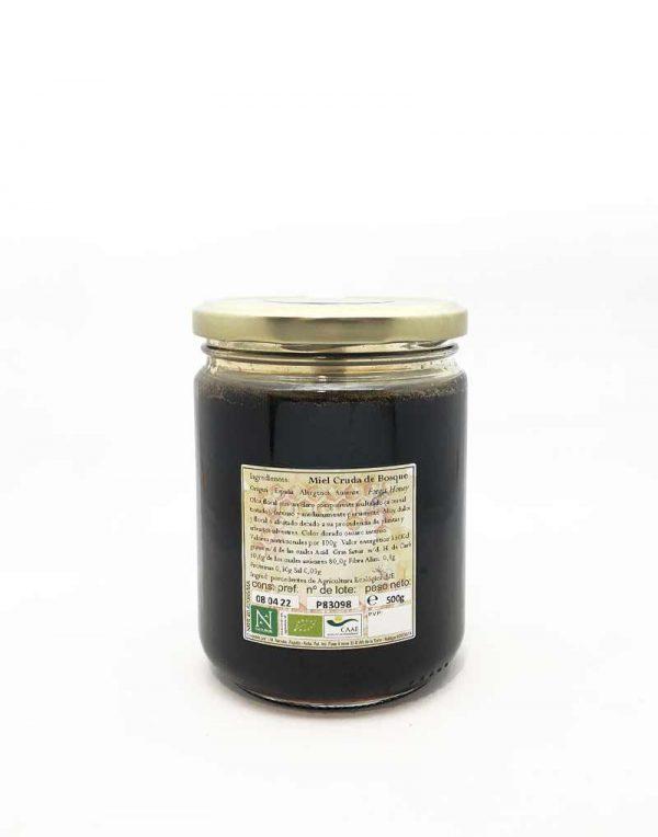 miel cruda de bosque ecologica naturdis