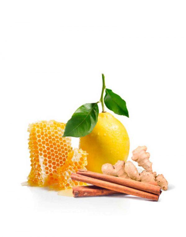 Preparado de miel para la garganta