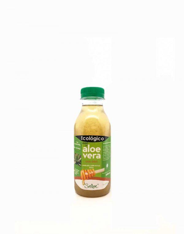 jugo de aloe vera con miel ecologico