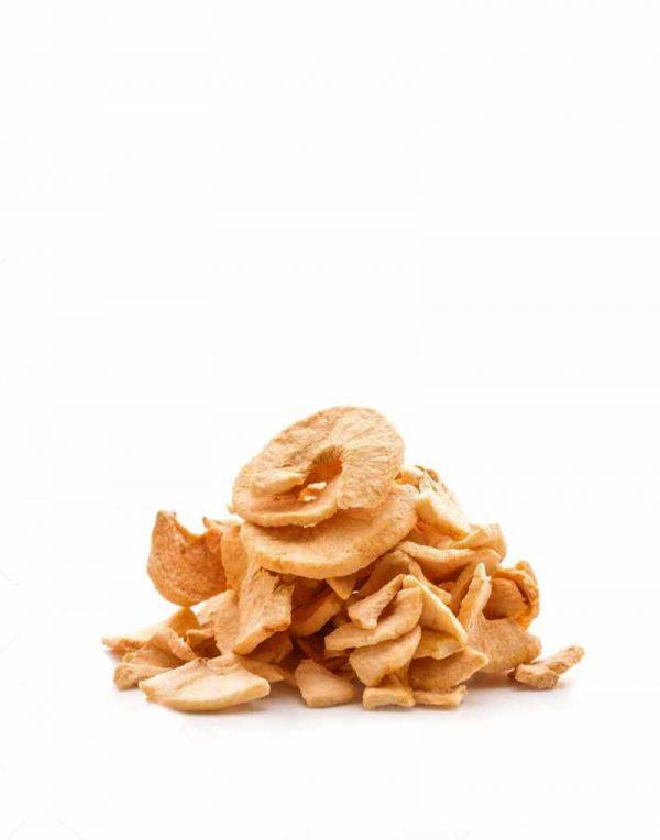 chips de manzana seca ecologica