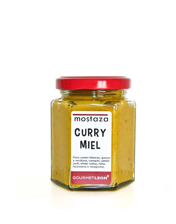 mostaza curry miel gourmet leon