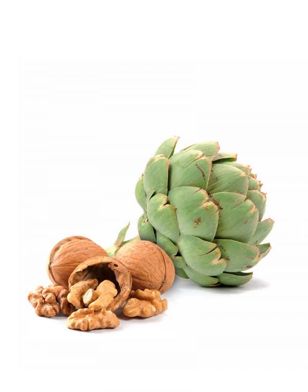 pate de alcachofas con nueces vegano