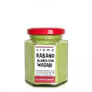 salsa de rabano con wasabi gourmet