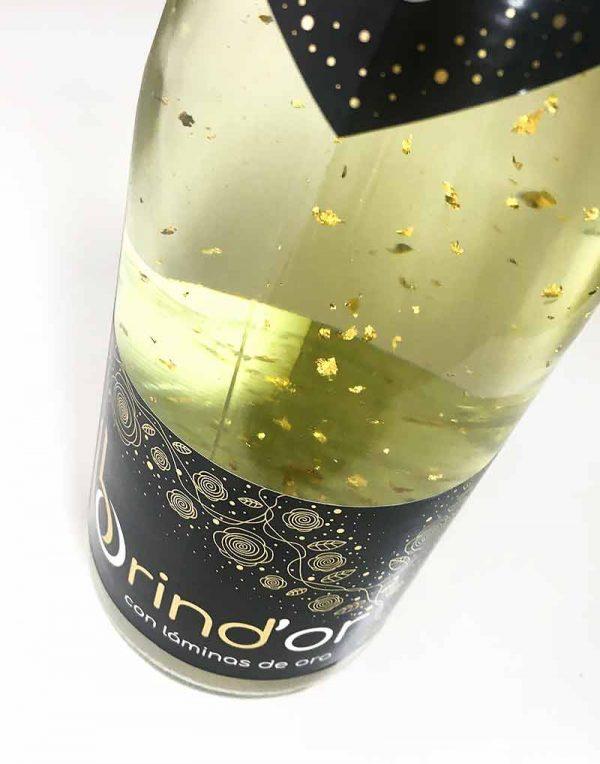 comprar vino con oro Brind'or