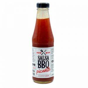 salsa barbacoa picante gourmet leon