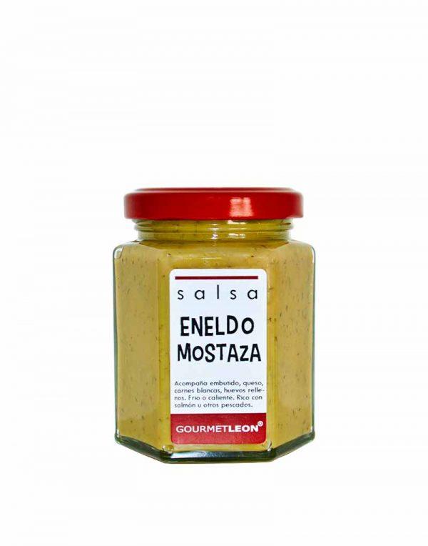 salsa de mostaza y eneldo gourmet
